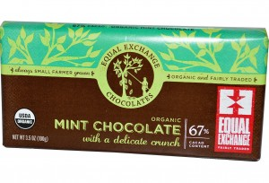 Amazon - Equal Exchange Mint Chocolate Bar