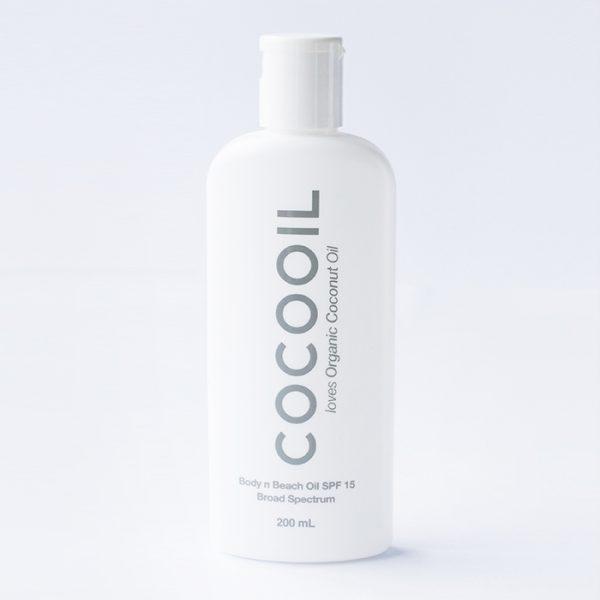 Cocooil - SPF 15 Organic Coconut Oil