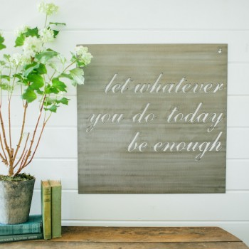 Magnolia Market - Let Whatever You Do Sign