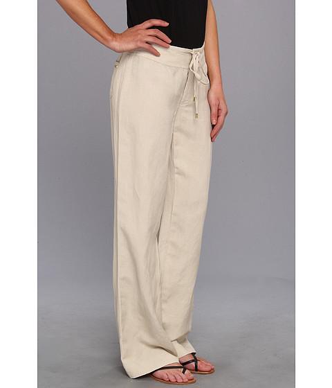 6pm.com - Calvin Klein - Linen Wide Leg Pant
