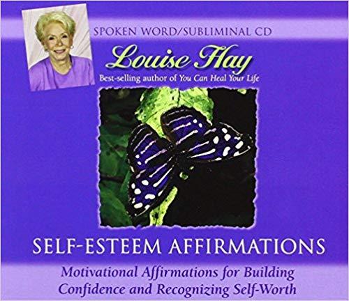 Amazon - Louise L. Hay - Self Esteem Affirmations Subliminal CD