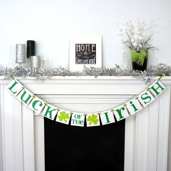 Etsy - Luck of the Irish Sign