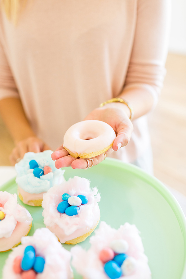 LaurenConrad.com - Cotton Candy Nest Donuts