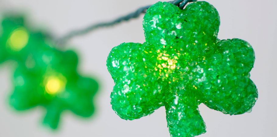 Lights & Decor for All Occasions - Shamrock Lights