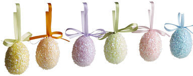 Pier 1 Imports - Glitter Egg Ornament Box Set