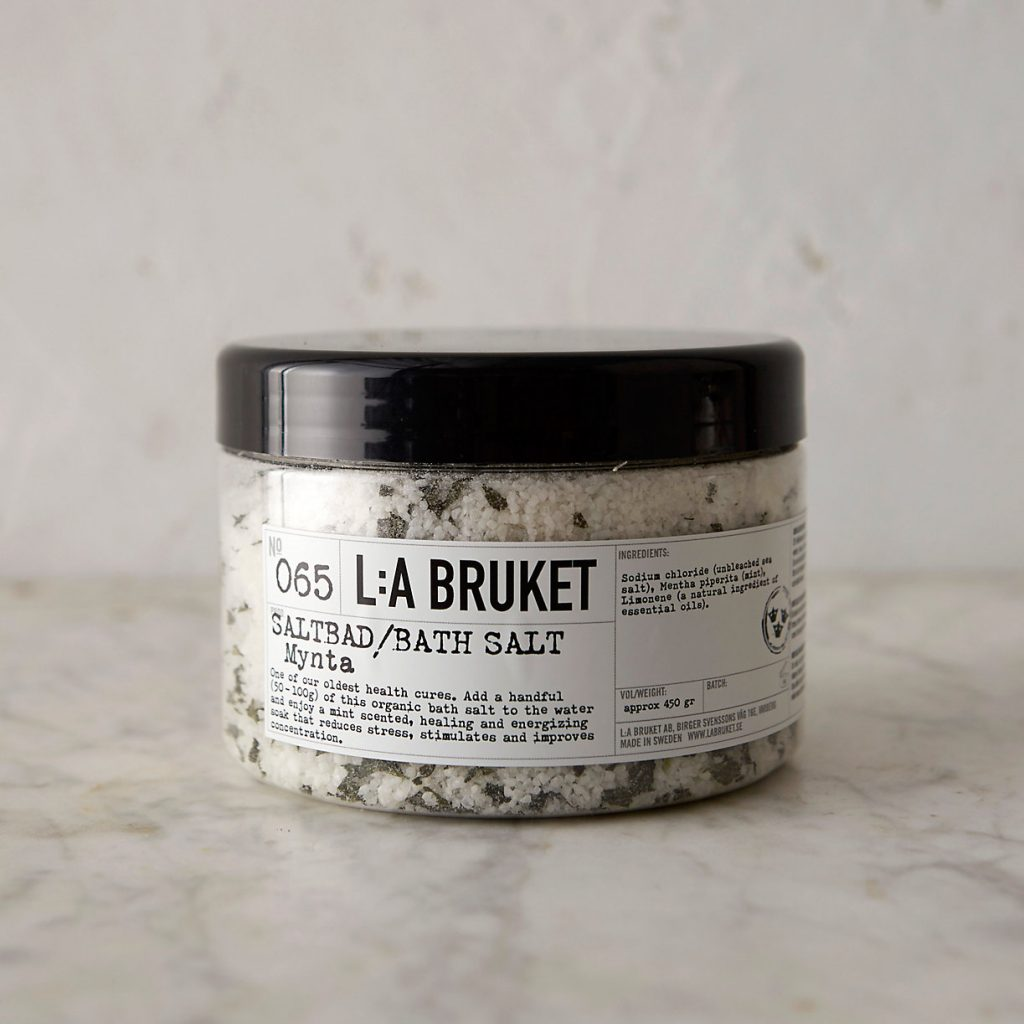 ShopTerrain.com - LA Bruket Bath Salts - Mint Foot Bath Salts